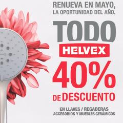 Helvex con 40% en Mayo